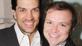 Will Swenson and Chris Gunn get chummy at the Golden Theatre.