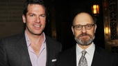 MSNBC news anchor Thomas Roberts shares the spotlight with David Hyde Pierce.
