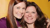 Aww! Allison Case goes cheek to cheek with the real Kelli Mangrum.