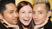 Mamma Mia! vets Issac Callpito and Frankie James Grande rally around Hardbody star (and fellow Mamma Mia! alum) Allison Case.