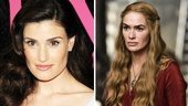 Idina Menzel as Queen Cersei Lannister