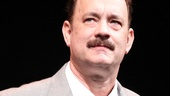 Tom Hanks commands the stage on opening night of Lucky Guy.
