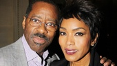 Lucky Guy standout Courtney B. Vance puts an arm around his beautiful wife, Angela Bassett.