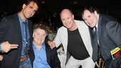 The Big Knife stars Bobby Cannavale and Richard Kind flank Lucky Guy pals Peter Gerety and Michael Gaston.