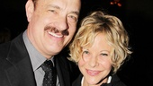 Look who showed up to support Tom Hanks! It's his Nora Ephron rom-com co-star Meg Ryan!