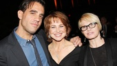 Tony nominee Bobby Cannavale, Lucky Guys Deirdre Lovejoy and Tony winner Ellen Barkin enjoy the opening night revelry.
