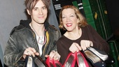 Reeve Carney and Kinky featured player Adinah Alexander show off some sexy heels.