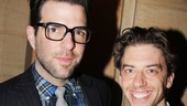 It's an Angels in America reunion for Zachary Quinto and Tony winner Christian Borle.