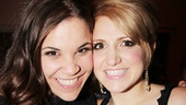 Lindsay Mendez is elated to catch up with her Dogfight co-star  Annaleigh Ashford.