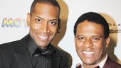 Bryan Terrell Clark and Ryan Shaw give life to Marvin Gaye and Stevie Wonder on Broadway.