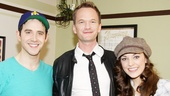 How I Met Your Mother star (and frequent Tony host) Neil Patrick Harris congratulates Cinderella's Santino Fontana and Laura Osnes.