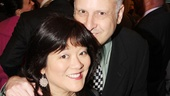 It's Broadway.com Audience Choice Award nominee Ann Harada and her husband, Peter Litman.