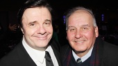 Disney fan alert! The Lion King film co-stars Nathan Lane (Timon) and Ernie Sabella (Pumbaa) reunite at The Nance opening.