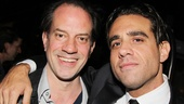 Bobby Cannavale spends some quality time with Lucky Guy cast member Danny Mastrogiorgio.