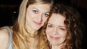 Leading lady Marin Ireland bonds with Deirdre OConnell, her co-star in 2010s In the Wake at the Public Theater.