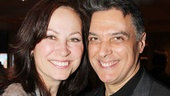 Original Jekyll & Hyde stars Linda Eder and Robert Cuccioli (now co-starring in Spider-Man) relive fond memories at the opening party.