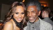 Deborah Cox takes a photo with Tony nominated actor/director/choreographer Andre De Shields.