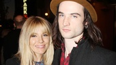 Orphans breakout star Tom Sturridge brought his stunning girlfriend Sienna Miller The Testament of Mary.