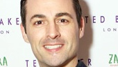 Evita alum Max von Essen is ready to do some shopping.