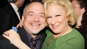 Marc Shaiman flew in from London just for the opening night of his friend Bette.
