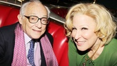 Producer and theater exec James Nederlander congratulates Broadway's newest superstar.
