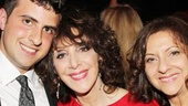 The stunning Andrea Martin is surrounded by love! Here, she's flanked by her son Joe Dolman and sister Marcia.