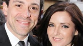 Tony winner Steve Kazee and his lovely Pippin date Sara Fitzpatrick, founder of Arthouse Interactive, are ready to see some circus tricks!