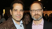 It&#39;s a Heidi Chronicles reunion for nominees Tony Shalhoub (Golden Boy) and David Hyde Pierce (Vanya)!
