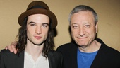 Orphans breakout star Tom Sturridge is proud to represent his show along with revival producer Frederick Zollo.