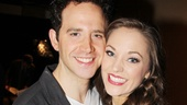 The most beautiful couple in the kingdom…of course, we mean royal Cinderella duo Santino Fontana and Laura Osnes.