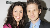 Audience Choice Award winner Stephanie J. Block arrives with her handsome hubby, House of Cards star Sebastian Arcelus.