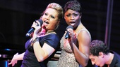 BACA winner Orfeh and Tony nominee Montego Glover stop the show with an incredible performance of Lewis Flinn and Douglas Carter Beanes original song Broadway Fan. Sing it, girls!