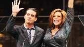 And thats our show! Bobby Cannavale and Wendy Williams wave goodbye to the 2013 Broadway.com Audience Choice Awards. See you next year!