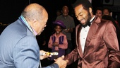 Quincy Jones gushes about Brandon Victor Dixon's performance as Motown founder Berry Gordy.