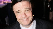 Here's the big winner! Nathan Lane was chosen over 59 other nominees for the Distinguished Performance Award for his unforgettable (and Tony-nominated) performance in The Nance.