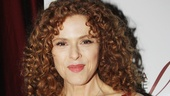 The dazzling Bernadette Peters was honored with the Distinguished Achievement in Musical Theatre Award. You deserve it, Bernie!