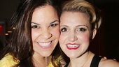 We're still in love with Wicked newcomer Lindsay Mendez and Kinky Boots star Annaleigh Ashford after they brought the house down in off-Broadway's Dogfight!