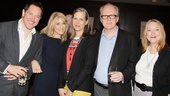 Star mash-up! Bertie Carvel, Judith Light, Amy Morton, Tracy Letts and Kristine Nielsen spend some quality time at the 79th Annual Drama League Awards. 