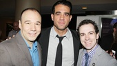 How about these talented leading men? Say hello to Danny Burstein (Golden Boy), Bobby Cannavale (The Big Knife) and Rob McClure (Chaplin)!