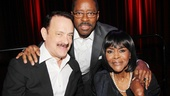 Lucky Guy co-stars Tom Hanks and Courtney B. Vance get close to Trip to Bountiful grande dame Cicely Tyson.