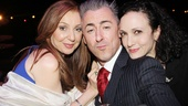 Tony winners Donna Murphy, Alan Cumming and Bebe Neuwirth goof around before the ceremony begins.