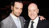 Jekyll & Hyde's good doctor Constantine Maroulis looks sharp next to the always-classy  Anthony Warlow of Annie.