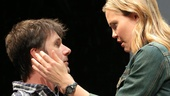Josh Hamilton as Greg and Leslie Bibb as Carly in Reasons To Be Happy.