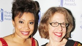 Comedy gold! Someone get Vanya winner Shalita Grant and presenter Jackie Hoffman on stage together, stat!
