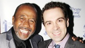 Stage legend Ben Vereen awards Rob McClure for his star-making turn in Chaplin.