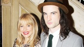 Orphans breakout Tom Sturridge arrives with his gorgeous fiancee, Broadway vet Sienna Miller.