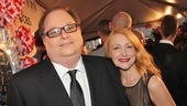 Tony Red Carpet- Richard Greenberg- Patricia Clarkson