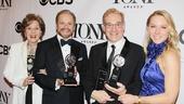 2013 Tony Awards Winner's Circle – Fran Weissler – Barry Weissler – Howard Kagan – Janet Kagan