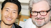 Look who else came to see Murder Ballad: Daniel Dae Kim, star of TV's Hawaii Five-0 and Lost, drops by to congratulate his pal John Ellison Conlee.