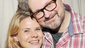 Aww! Murder Ballad star John Ellison Conlee is thrilled that his wife, Celia Keenan-Bolger, brought her Glass Menagerie castmates to see the show.